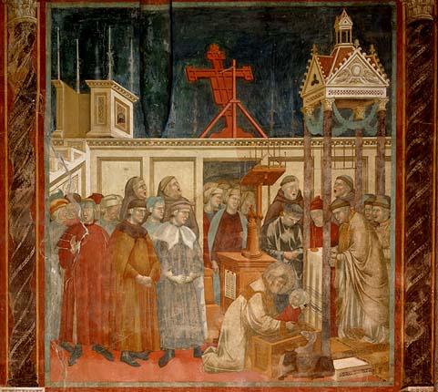 Giotto: il presepio a Greccio dans images sacrée presepe