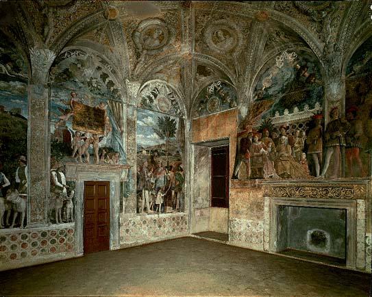 Mantova Castello Di San Giorgio La Camera Degli Sposi
